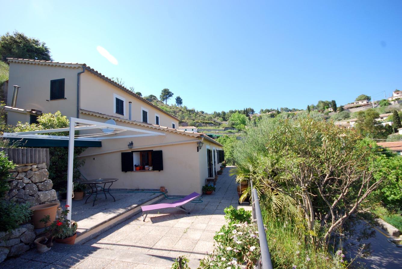 Acogedora casa en el pueblo de Galilea en plena Serra de Tramuntana.