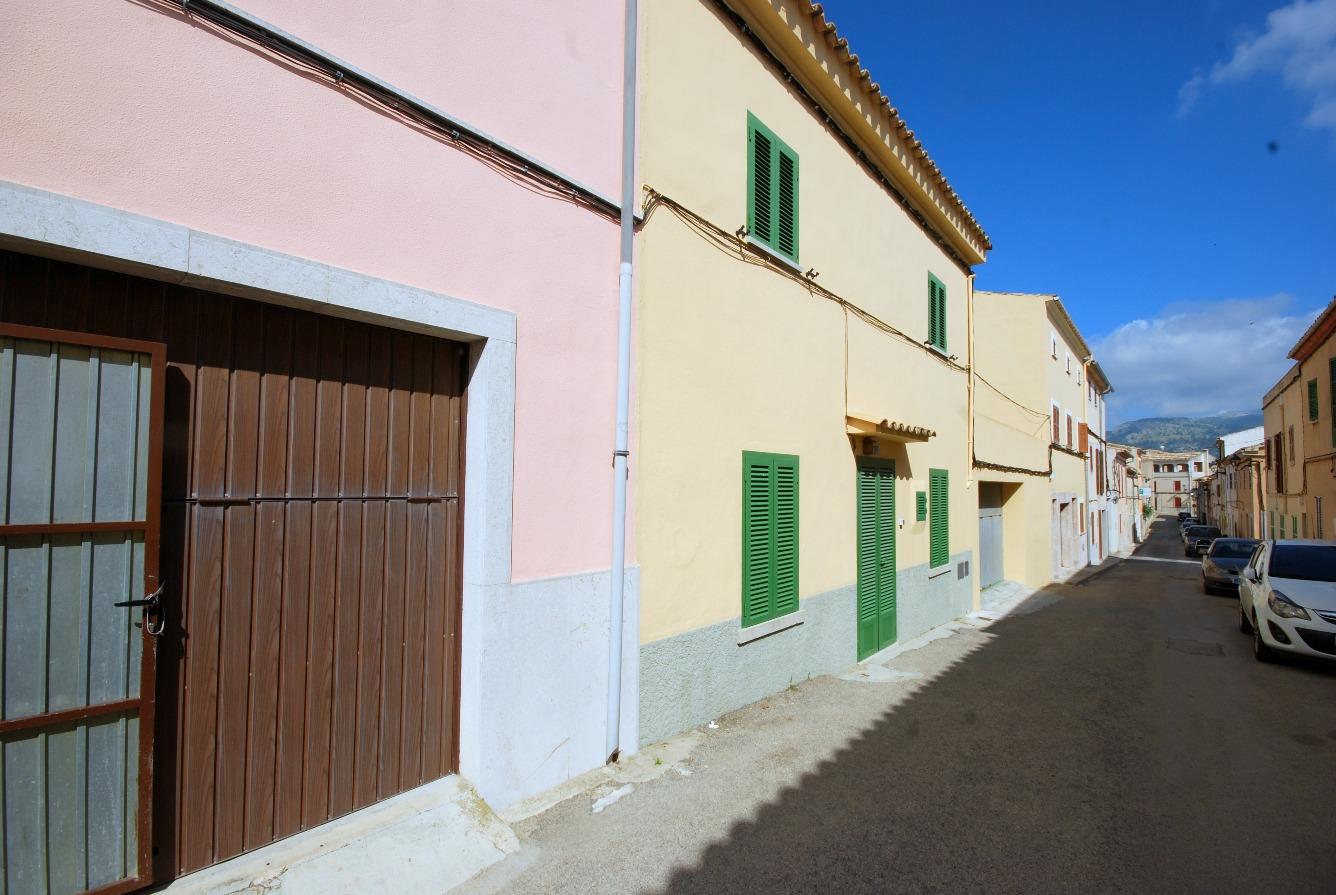 Casa de pueblo en Campanet, al noreste de Mallorca.