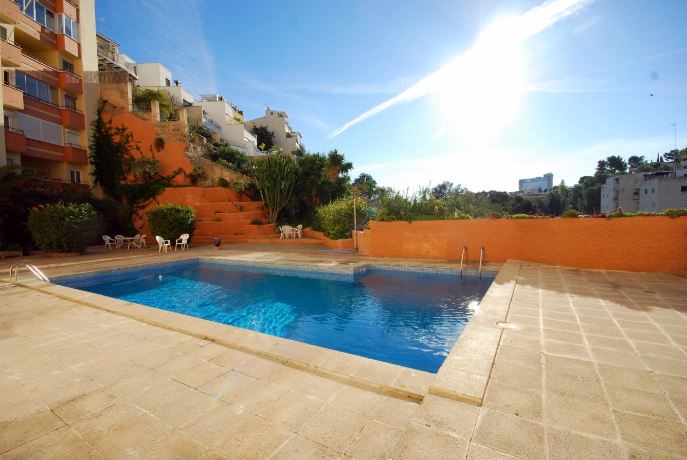 Apartamento en la zona alta del Terreno, junto al Castillo de Bellver.