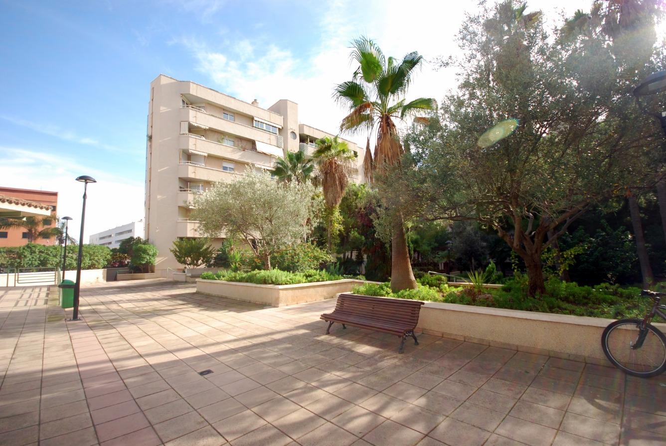 Piso muy luminoso en Palma muy próximo al mar y al centro, cerca del nuevo palacio de Congresos.