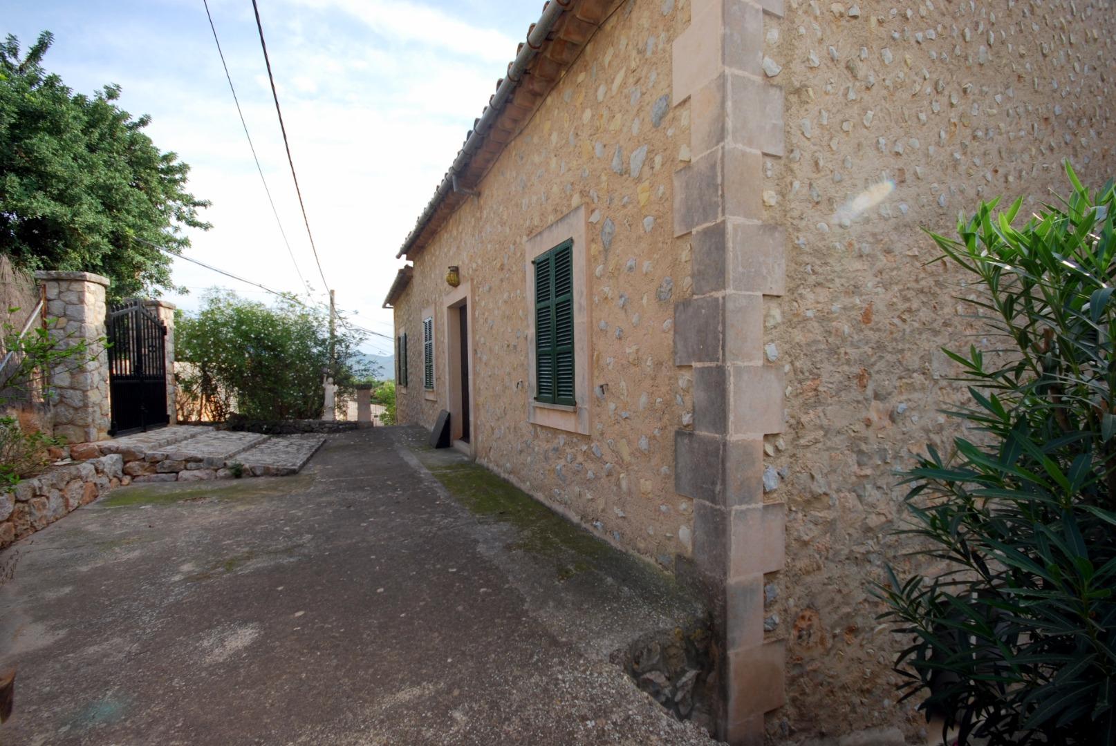 Casa mallorquina con carácter en el encantador y pequeño pueblo de Alaró